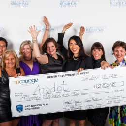 nCourage awards Courageous Women Entrepreneur Award $20,000 Investment Prize to AQDOT, University of Cambridge, England
