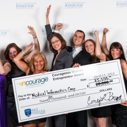 nCourage awards Courageous Women Entrepreneur Award $25,000 Investment Prize to Medical Informatics Corp., Rice University