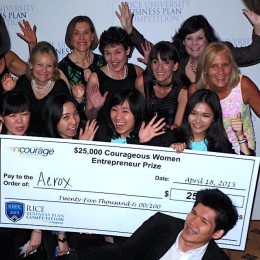 nCourage awards Courageous Women Entrepreneur Award $25,000 Investment Prize to Aerox, Thammasat University