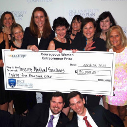 nCourage awards Courageous Women Entrepreneur Award $35,000 Investment Prize to Inscope Medical Solutions, University of Louisville